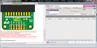 UFI - eMMC ToolBox, serta pilih User Partiton serta centang Direct Emmc (ISP)