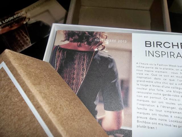 Birchbox - Septembre 2013
