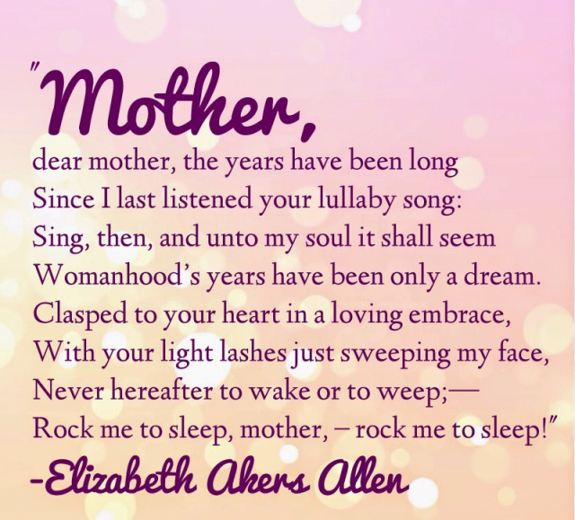 Mothers Day Cards, Poems And Message & Images