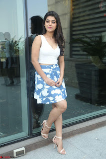 Yamini in Short Mini Skirt and Crop Sleeveless White Top 041.JPG