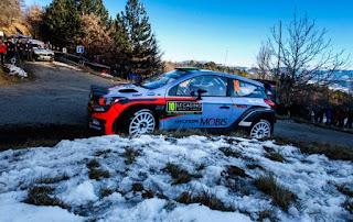 Echipa Hyundai Motorsport concureaza cu noul i20 Coupe WRC in Raliul Monte-Carlo