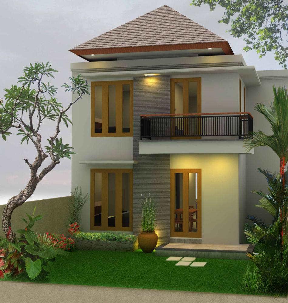 Desain Rumah Minimalis Sederhana Tingkat