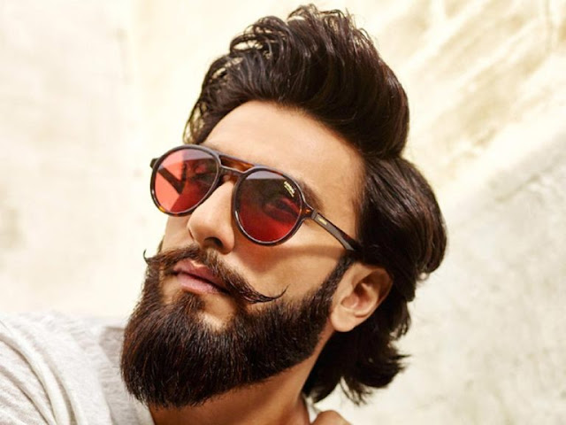 Ranveer Singh Latest New Hairstye Beard Look Images