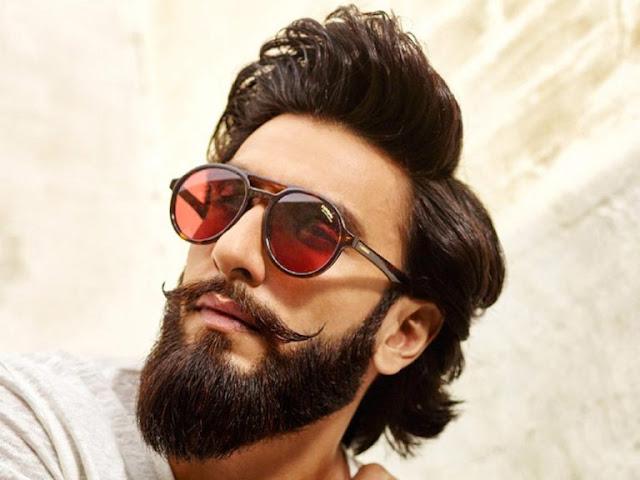 Ranveer Singh Latest New Hairstye Beard Look Images