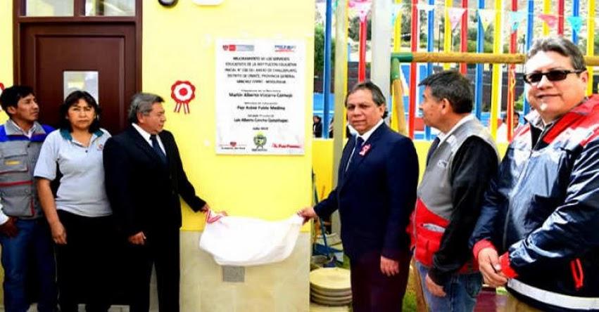 MINEDU inaugura escuela de inicial en Moquegua y colegio en Arequipa - www.minedu.gob.pe