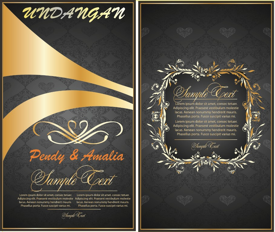 Download Undangan Pernikahan Format Cdr Linoawest