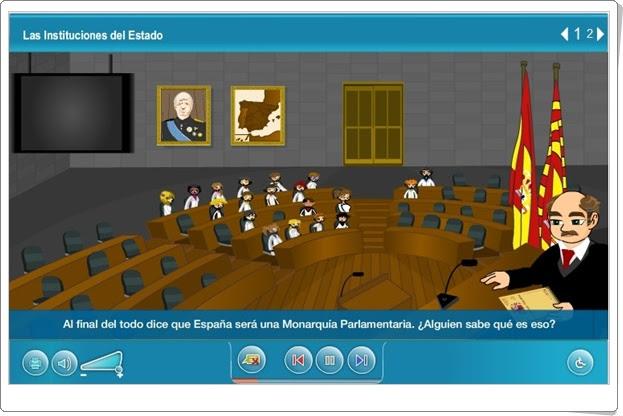 """""""Las instituciones del Estado"""" (Ciencias Sociales de Primaria)"""
