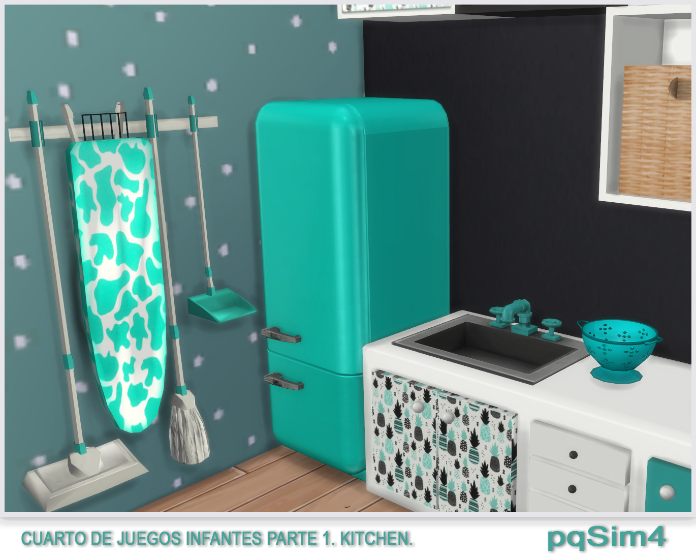 sims 4 cc's - the best: kids kitchen by pqsim4, Badezimmer ideen