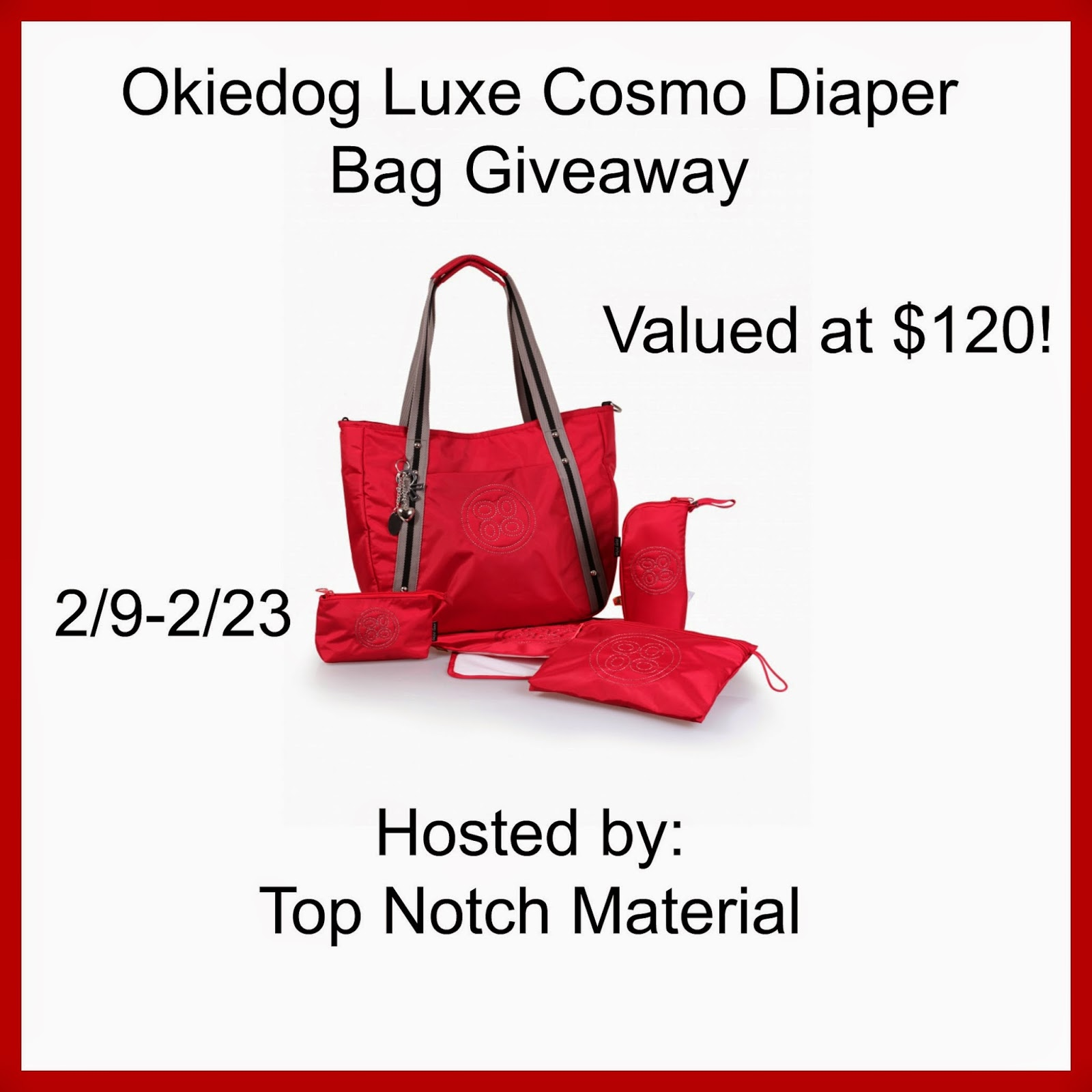 Top Notch Material Okiedog Luxe Cosmo Diaper Bag Sumo Dahoma Beige Monday February 9 2015