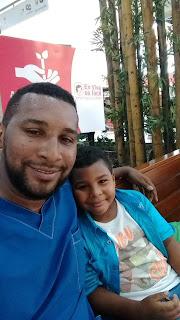 Foto de Piper Valca con su hijo Juan Esteban