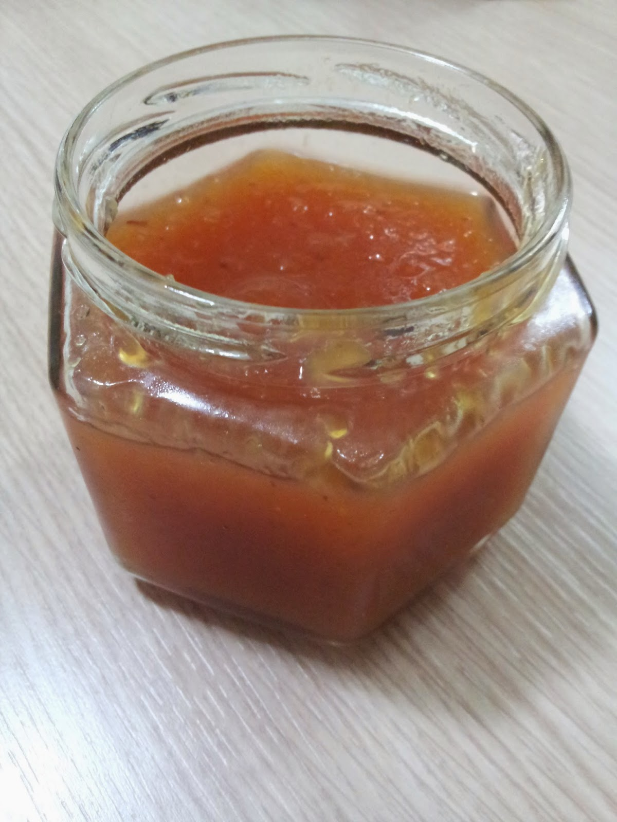Şeftali Marmelatı (Tam Kıvamında Nefis)