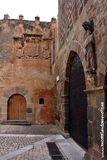 Detalla barbacana monasterio de Veruela