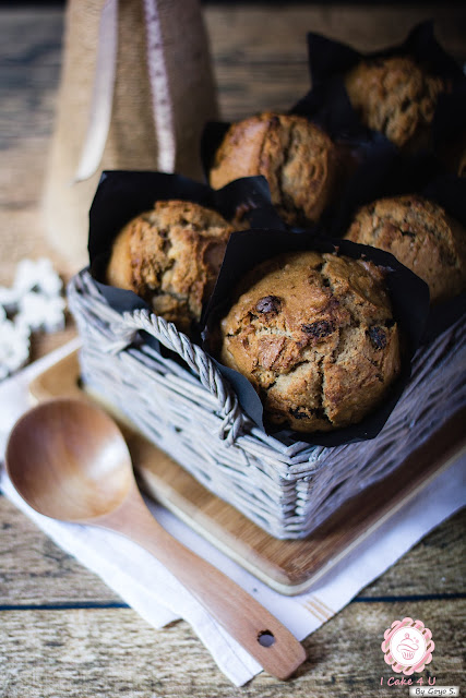 muffins de pasas