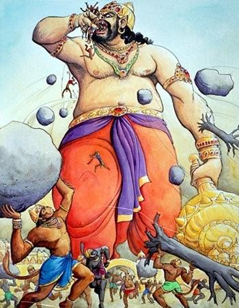 kriya gurupranam the story of kumbhakarna