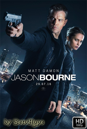 Jason Bourne [2016] [Latino-Ingles] HD 1080P Latino [Google Drive] GloboTV