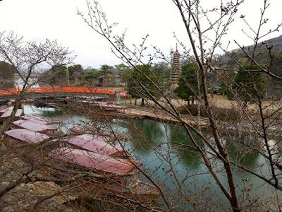 Uji River in the Morning at Kyoto Japan