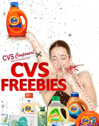 cvs couponers cvs freebies list