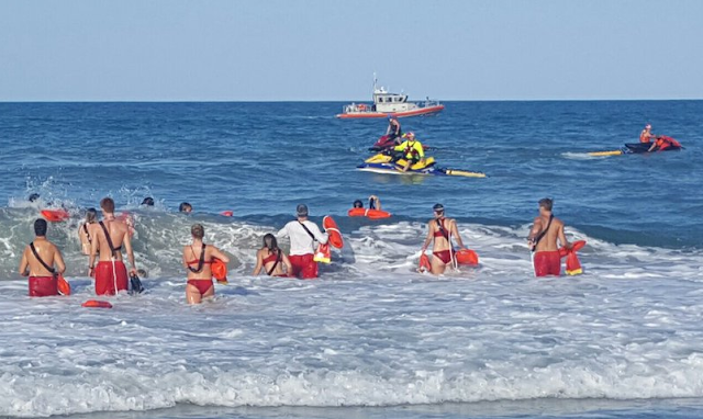 Brevad County Lifeguards Search For Missing Swimmer Off Melbourne Beach