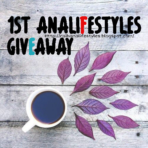 1ST ANALIFESTYLES GIVEAWAY.