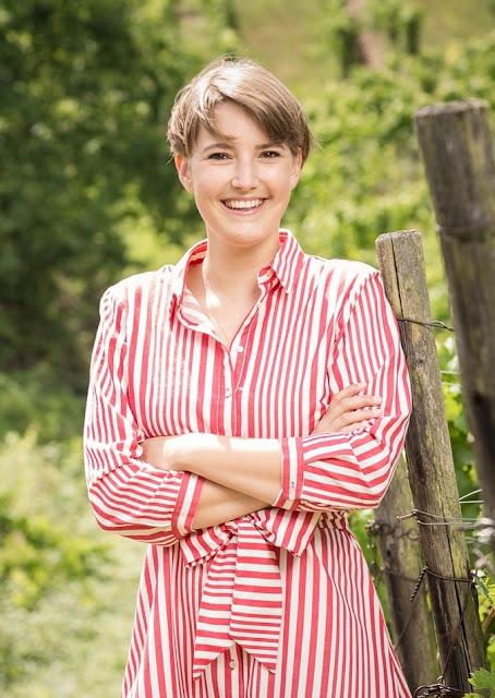 Weinmajestät Pauline Baumberger