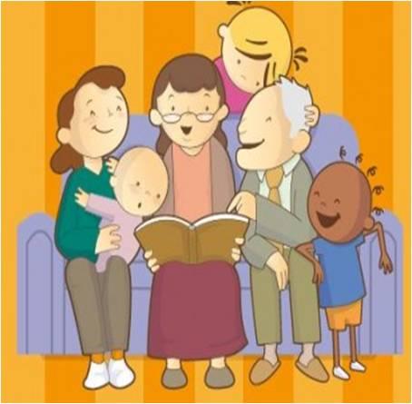 corazÓn de la lectura : leer en familia