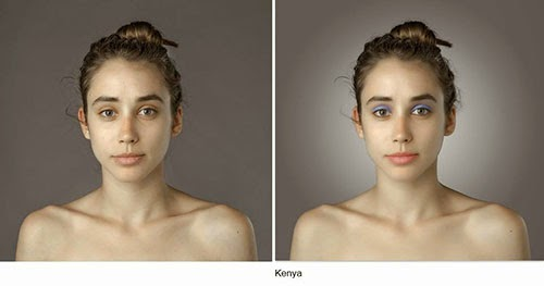 hasil photoshop wanita kenya