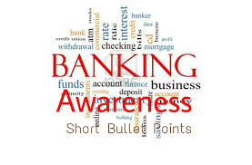 Banking Awareness Questions for RBI Grade-B Phase-1 Exam