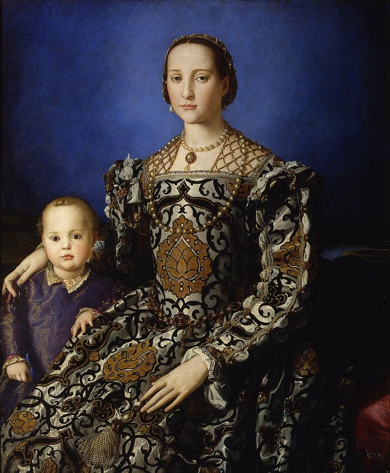 Leonor de Toledo amb el seu fill Giovanni de Mèdici (Bronzino)