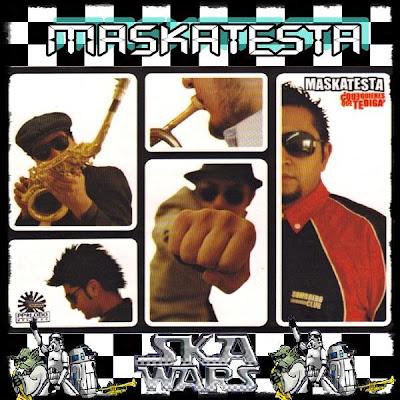 Maskatesta - Ska Wars Guadalajara (2008) (Disco Oficial) - www.PixeliArt.com