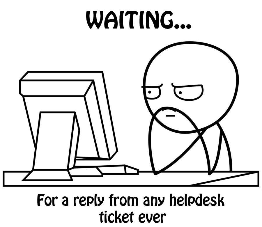helpdesk waiting