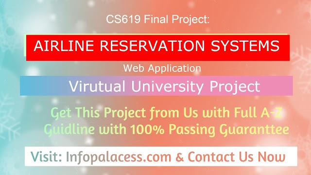 Airline Reservation System (ARS) Final Project CS619