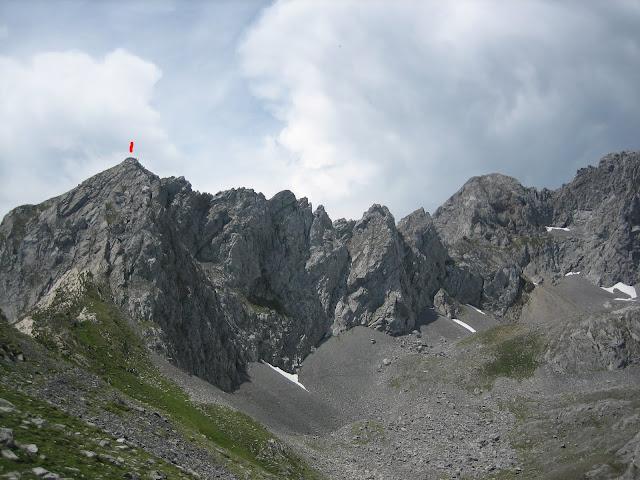 Rutas Montaña Asturias: Vista del Portillín Oriental