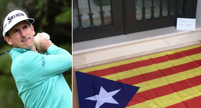 """Fernández Castaño: """"Vosotros pitáis el himno, yo uso vuestra bandera como felpudo a diario"""""""