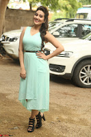 Manjusha in beautiful thin green gown At Jaya Janaki Nayaka le Logo Launch ~  Exclusive 133.JPG