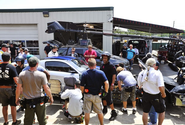 Brighton Ford : Ford Mustang Performs Real Stunts in the