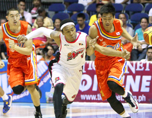 d50ee1d567 Calvin Abueva is back and Alaska, similarly, is back on the winning track.  The hardworking rookie Abueva brought his usual energy and the rest of the  Aces ...