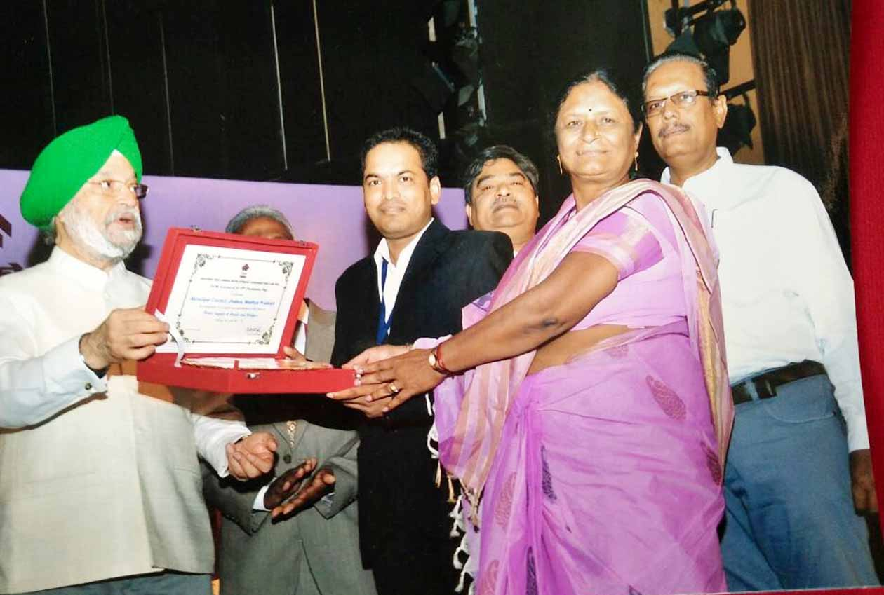 muncipal-president-and-cmo-Napa-President-and-CMO-honored-in-Delhi