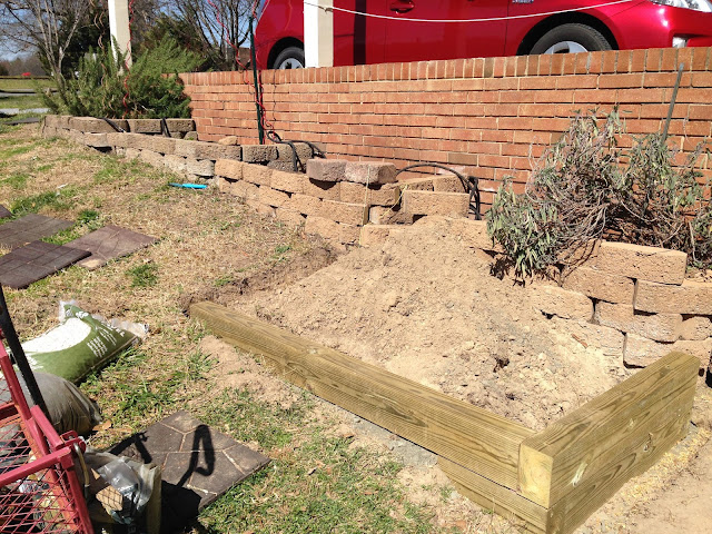 building a terrace pathway
