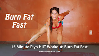 15 Minute Plyo HIIT Workout: Burn Fat Fast