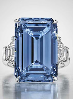 The Oppenheimer Blue, the most expensive diamond ever sold at auction