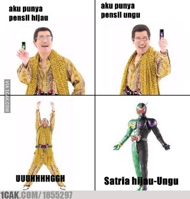 21 Meme Kocak 'PPAP (Pen Pineapple Apple Pen)', Bacanya Sambil Nyanyi