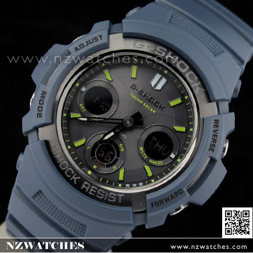CASIO G-SHOCK Men in Navy Blue Solar 200M Watch G-5600NV-2 8f3f40245f66