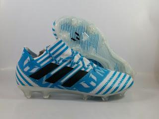 Adidas Nemeziz 17.1 FG - Messi White Blue