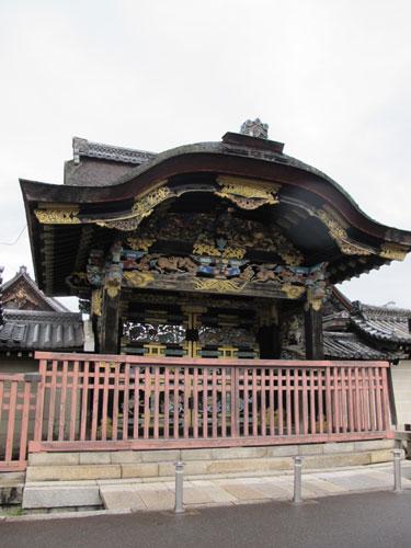 Higurashi-mon, Nishi-Honganji Temple, Kyoto