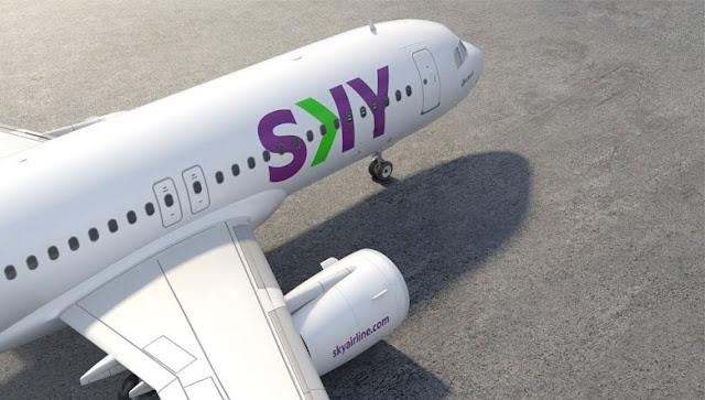 Sky Airlines Chile ha presentando su nueva identidad de marca