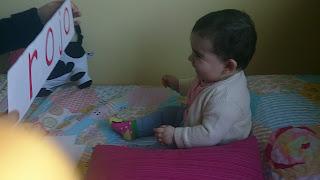 método Doman para enseñar a leer a los bebes