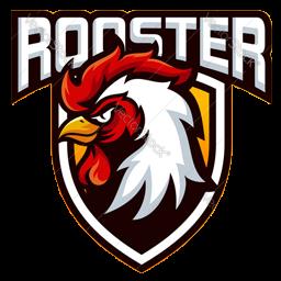 logo ayam petarung vektor
