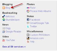 Tips artikel cepat terindeks - Setting Blog Feed