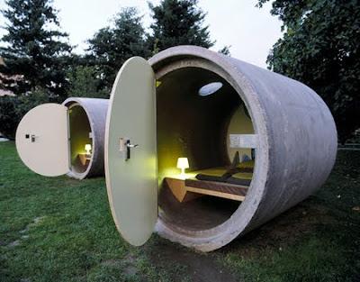 Diseño de hotel  fuera de lo común