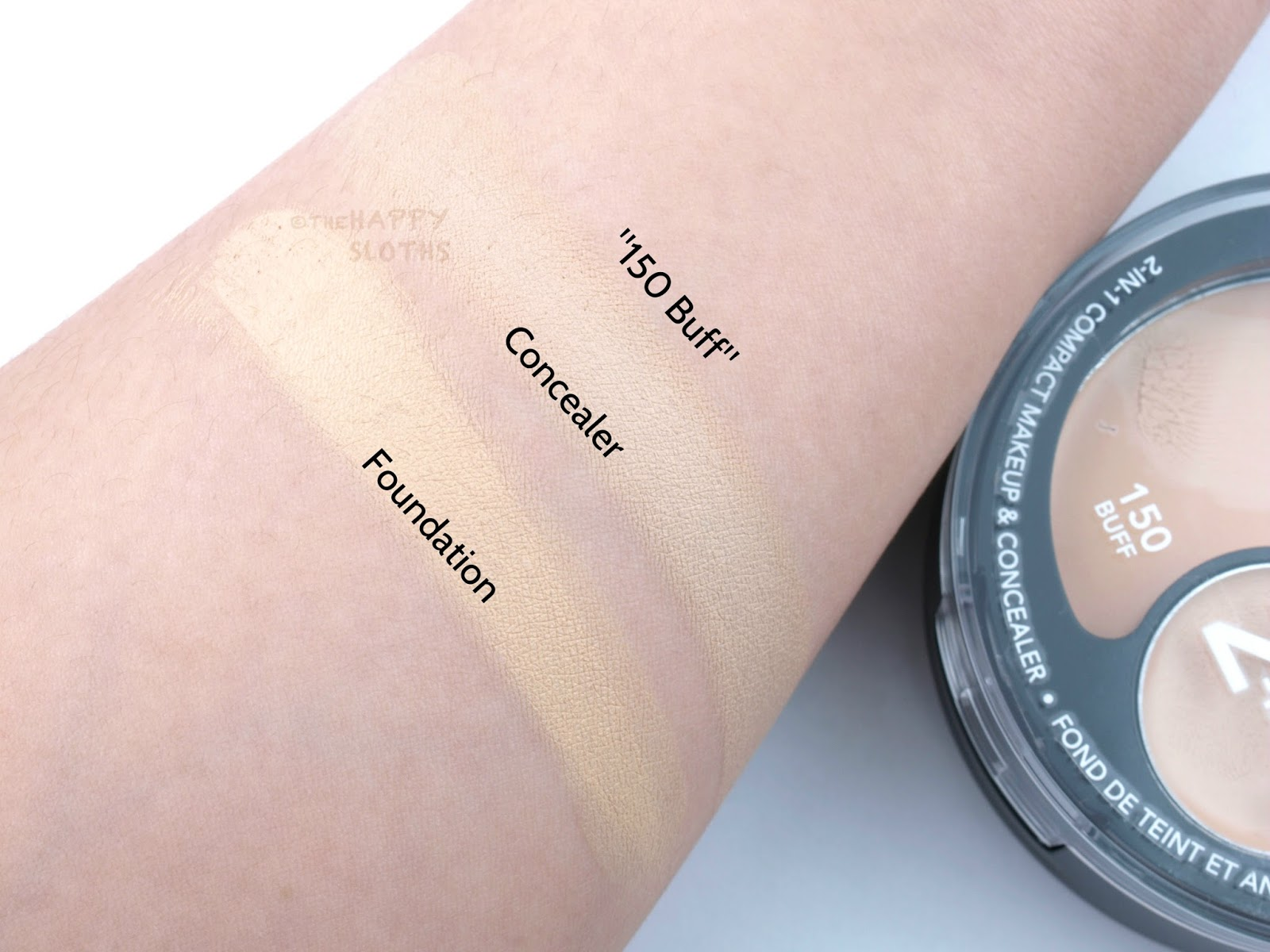 Revlon Colorstay 2 In 1 Compact Makeup Concealer Review And Foundations